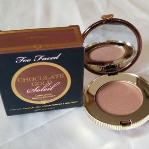 Too Faced Chocolate Gold Gilded Bronzer- Luminous